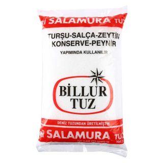 BİLLUR TUZ İRİ SALAMURA 3 KG