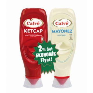 CALVE KETCAP 600 GR MAYONEZ 540 GR