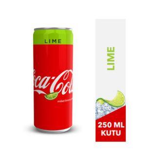 COCA COLA LIME 250 ml