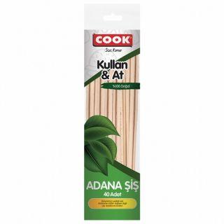 COOK ADANA ŞİŞ 40LI 25CM