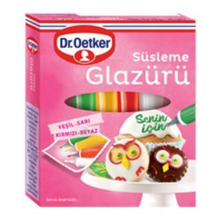 DR OETKER SÜSLEME GLAZÜRÜ