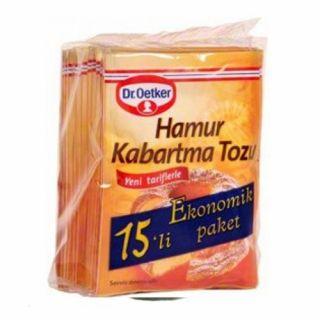 DR. OETKER HAMUR KABARTMA TOZU 15'Lİ PAKET 150 GR.