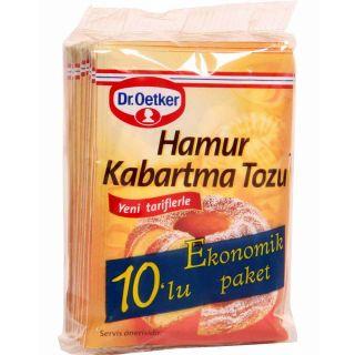 DR. OETKER HAMUR KABARTMA TOZU 10' LU 100 GR.
