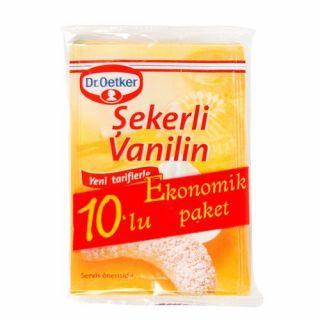 DR. OETKER ŞEKERLİ VANİLİN 10'LU PAKET 50 GR.