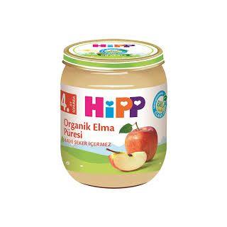 HIPP ORGANIK ELMA PURESI 125GR