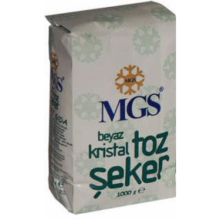 MGS TOZ ŞEKER 1 KG