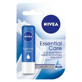 NIVEA LİP ESSENTIAL CARE DUDAK BAKIM KREMİ