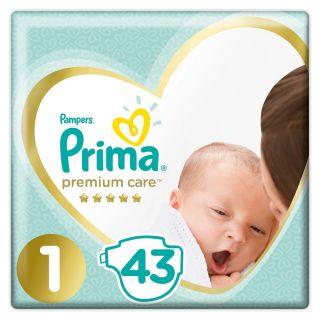 PRIMA PREMIUM CARE YENİDOĞAN 1 BEDEN 43 ADET
