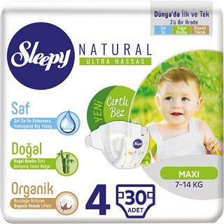 SLEEPY NATURAL MAXI 4 30LU