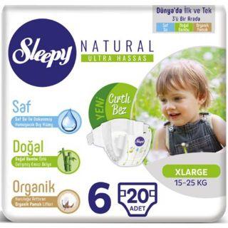 SLEEPY NATURAL XL 6 20LI