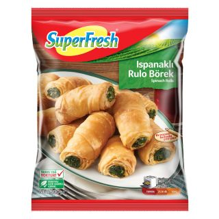 SUPER FRESH BÖREK RULO ISPANAKLI 500GR