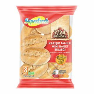 SUPERFRESH MİNİ TAHILLI BAGET EKMEĞİ 300GR