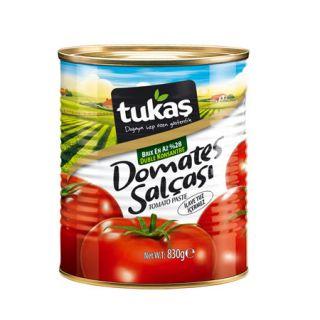 TUKAŞ DOMATES SALÇASI 830 GR
